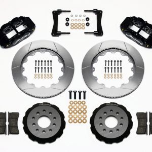 "Wilwood 14"" Forged Narrow Superlite 6R Big Brake Front Brake Kit (Hat) - Front"