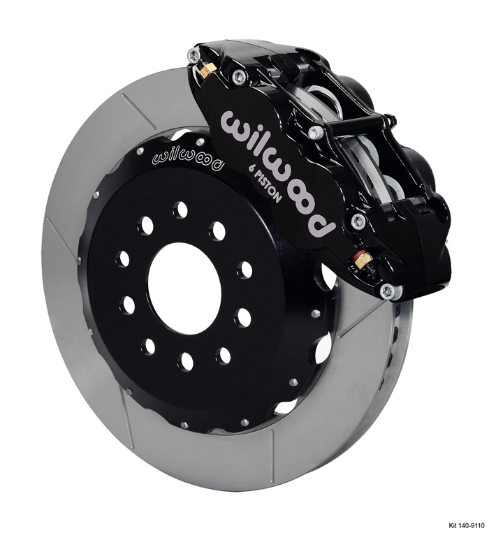 Wilwood 140 9110 Forged Narrow Superlite 6R Big Brake Front