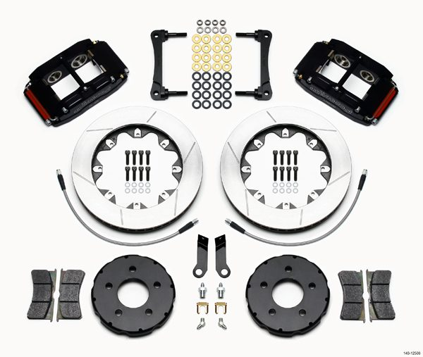 "Wilwood 12.19"" Superlite 4R Big Brake Front Brake Kit (Race) - Front"