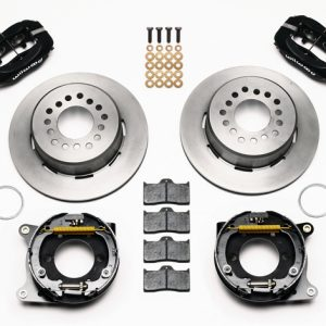 """Wilwood 12.19"""" Forged Dynalite Rear Parking Brake Kit"""