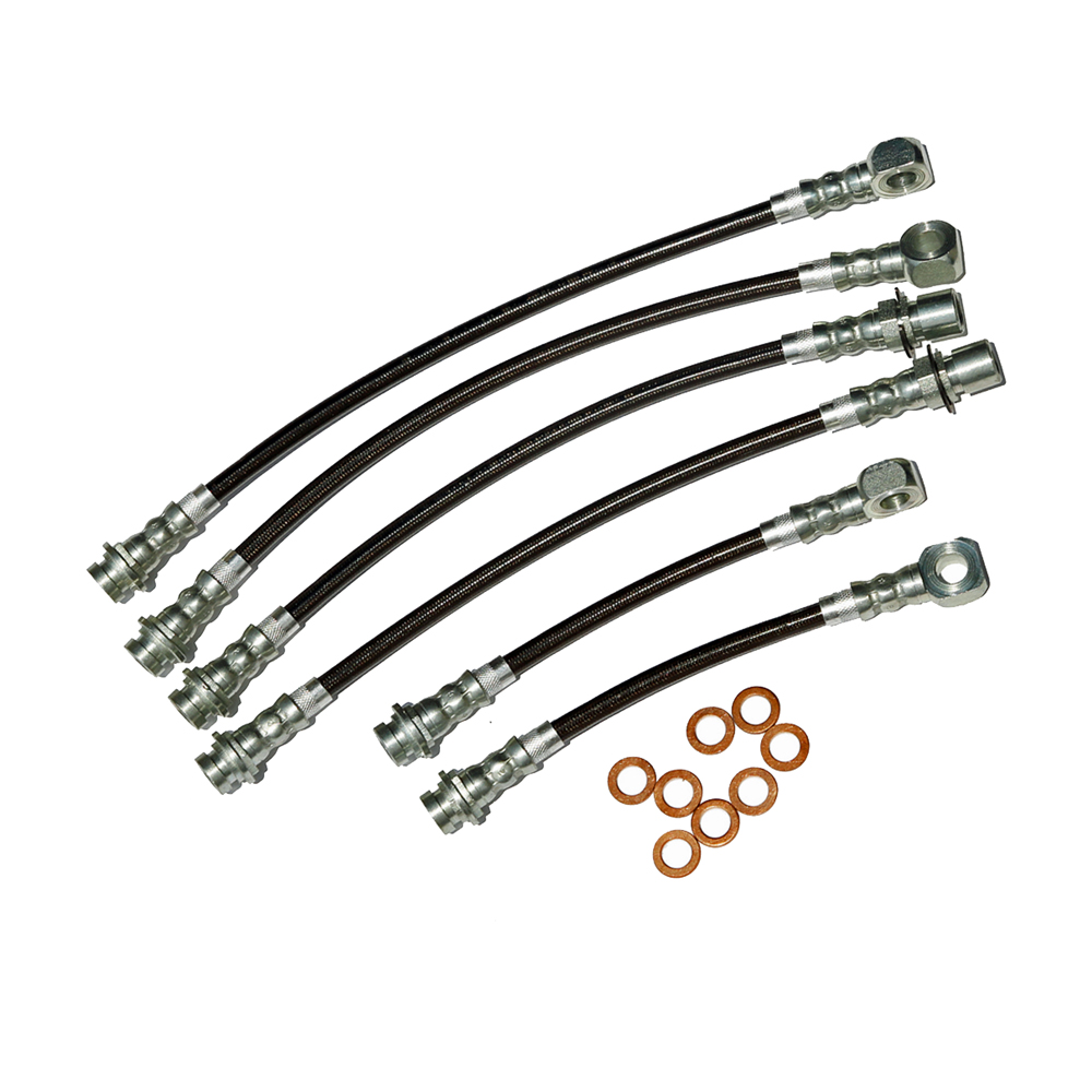 Stainless Steel Brake Hose Kits