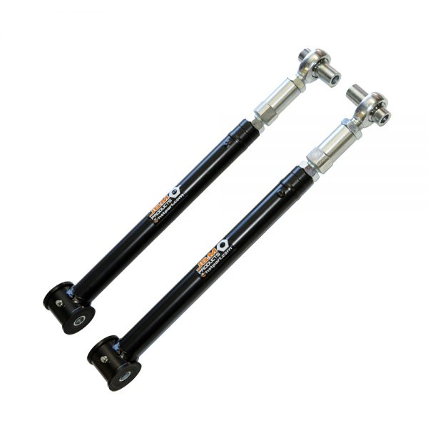 Mustang Lower Control Arms Black Powdercoat 05-14 Ford Mustang Adjustable J&M Products