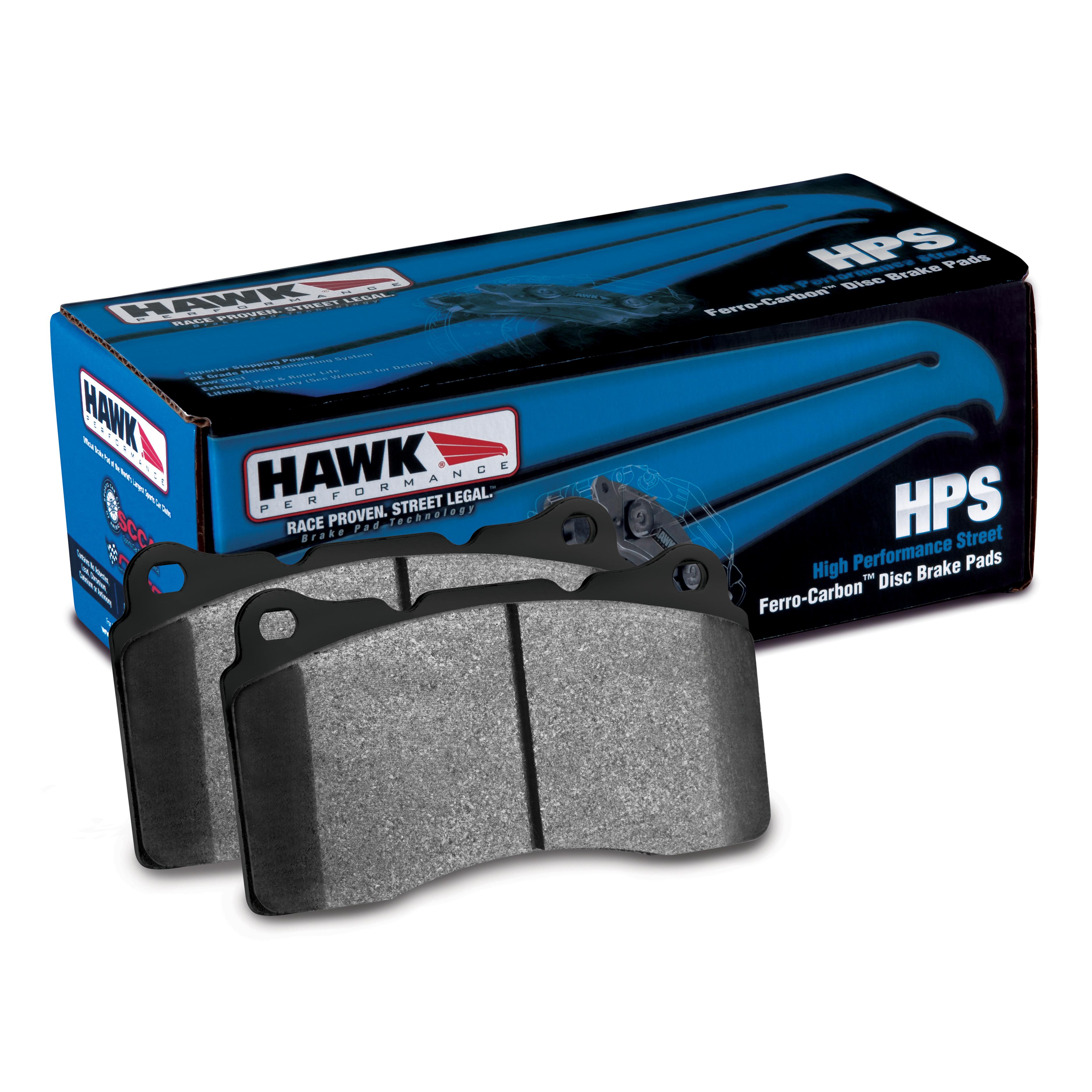 2004-2014 Mustang HPS Front Brake Pads HB453F.585 Hawk