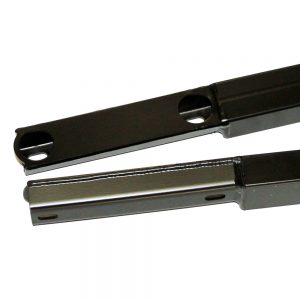 25500 Convertible Jacking Rails Black Close Up