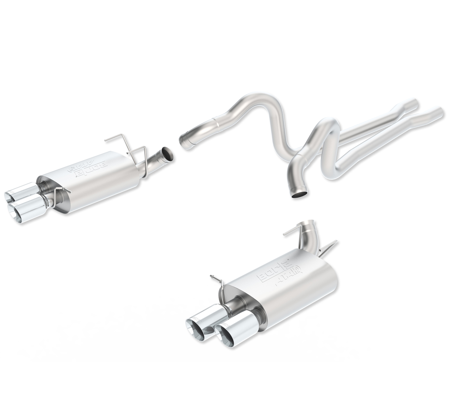 2013 Mustang GT 500 Stainless Steel Exhaust System Bor-140501
