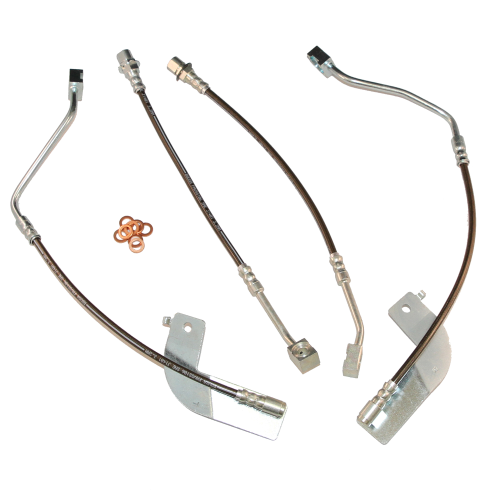 1999 Tahoe Brake Lines Stainless Steel : Ford mustang stainless steel brake hose kit