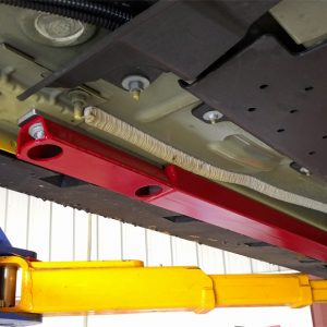 Jacking Rails Installed With IRS Support – 2