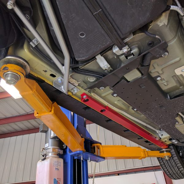 2015 2018 Mustang Gt Ecoboost Irs Support Brace Jacking Rails J Amp M Products