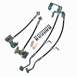 Stainless Steel Brake Hose Kits Front and Rear