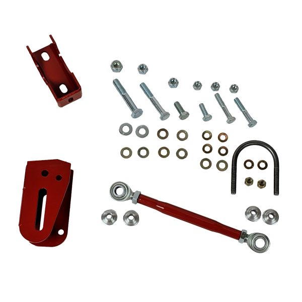 1982-2002 Chevrolet Camaro Pontiac Firebird Panhard Rod Relocation Kit - Red Drivers Side
